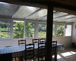 salle à manger - patio do vale